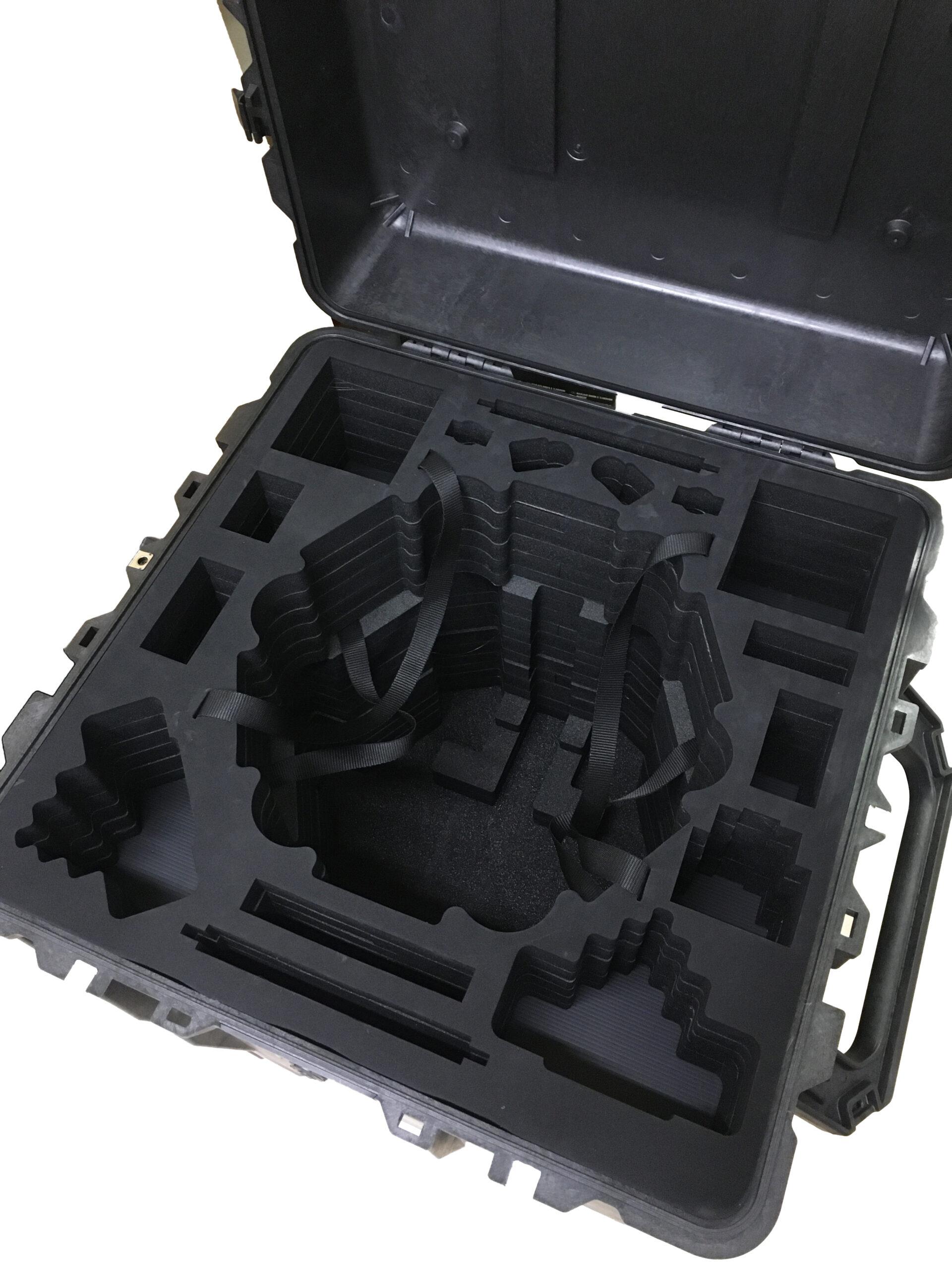 zakázková pěnová výplň pro dron