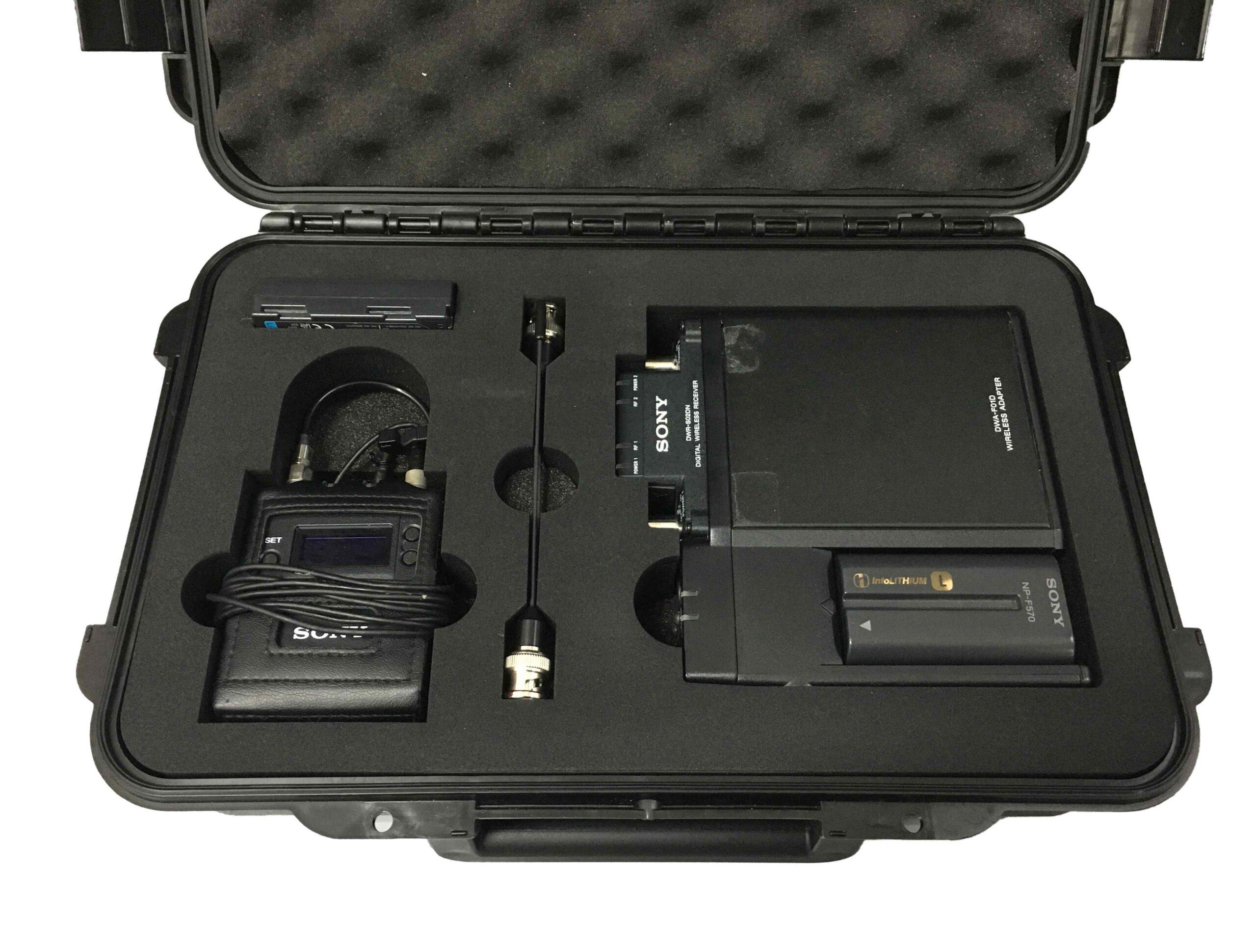 zakázková pěnová výplň pro mikroport audiotechniku