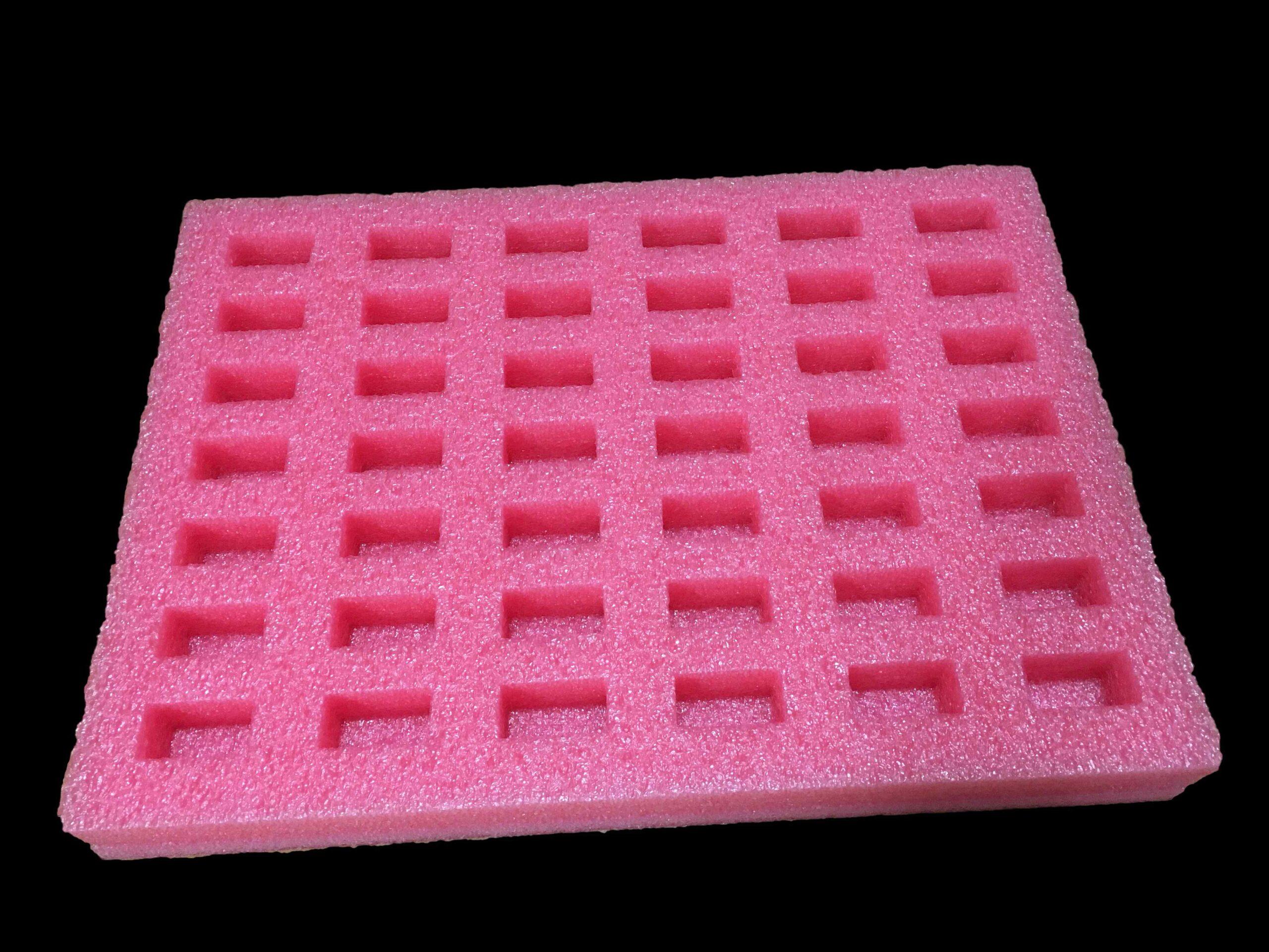 antistatická zakázková pěnová výplň na tištěné obvody